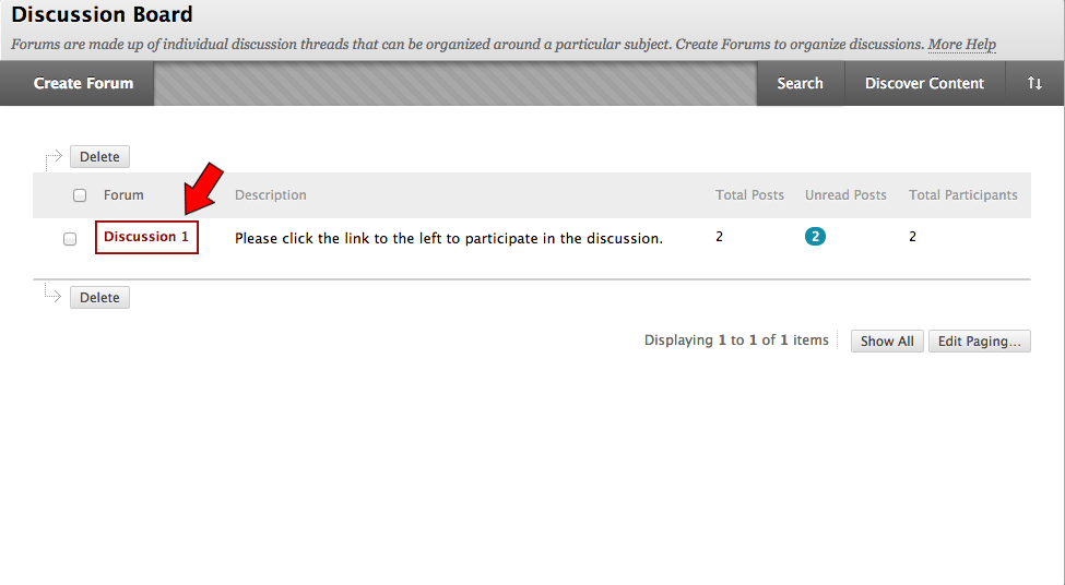 How to Post to Your Class Discussion Board